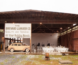 Brevard LumberYard Wedding Venue