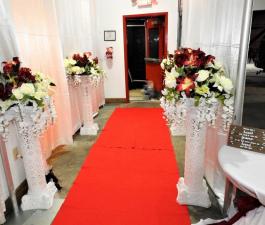 Brevard LumberYard weddings venue sample decor
