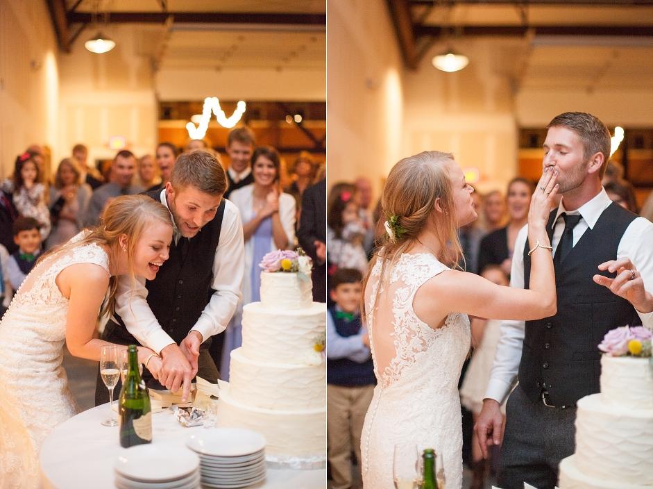 Wedding at Brevard LumberYard