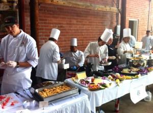 Chefs at Brevard Lumberyard
