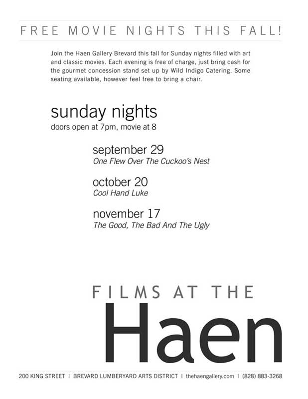free movies at Haen