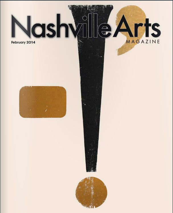 Nashville Arts Magazine Cover February 2014