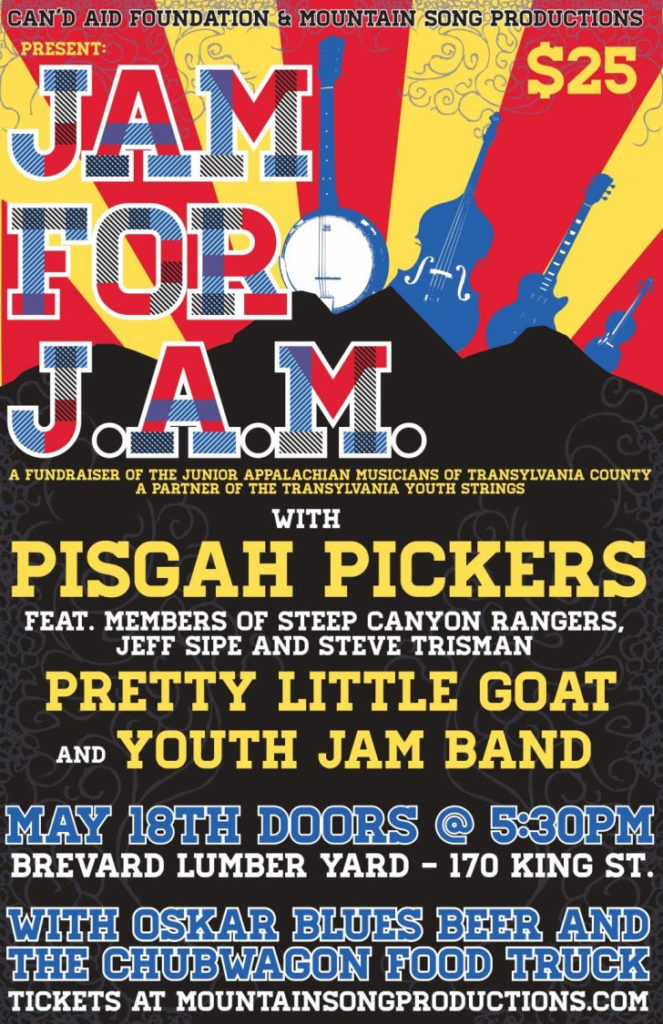 JAM for J.A.M. poster