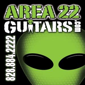 Area 22 Guitars logo